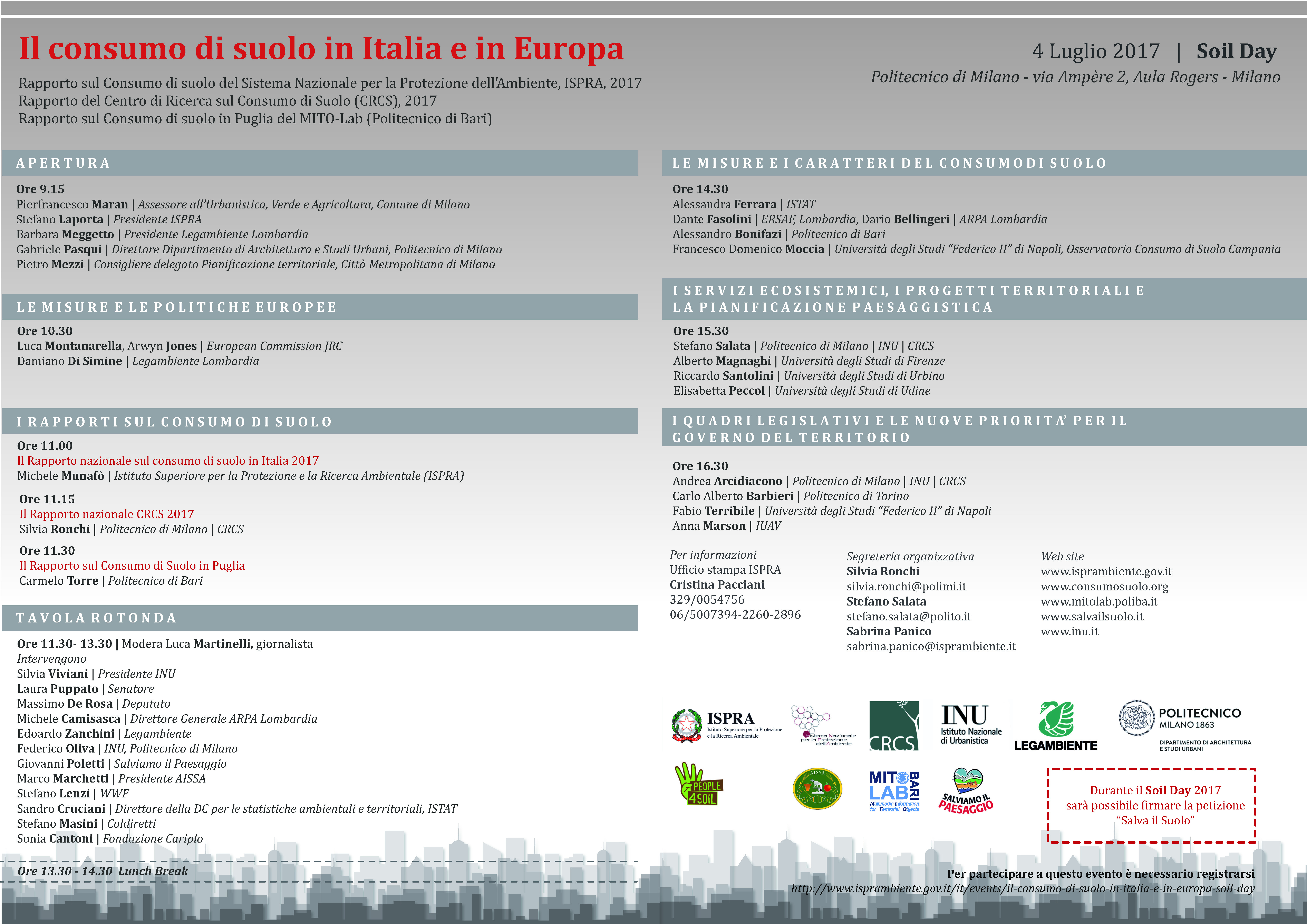 Soil Day – Soil consumption in Italy and Europe